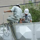 貯水槽保守管理の画像